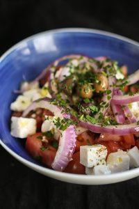 Salade Grecque - Restaurant Escudo